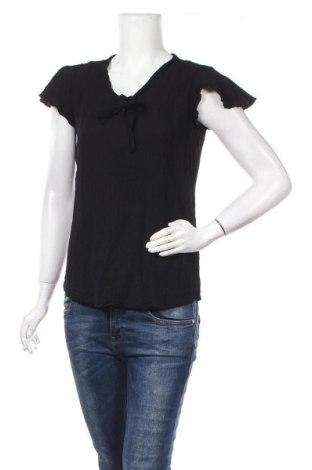 Γυναικεία μπλούζα Defacto, Μέγεθος L, Χρώμα Μαύρο, Βισκόζη, Τιμή 8,28€