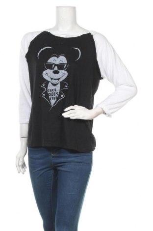 Γυναικεία μπλούζα Disney, Μέγεθος L, Χρώμα Μαύρο, 60% βαμβάκι, 40% πολυεστέρας, Τιμή 18,84€