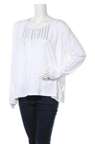 Дамска блуза Essentials by Tchibo, Размер 3XL, Цвят Бял, Памук, Цена 14,28лв.