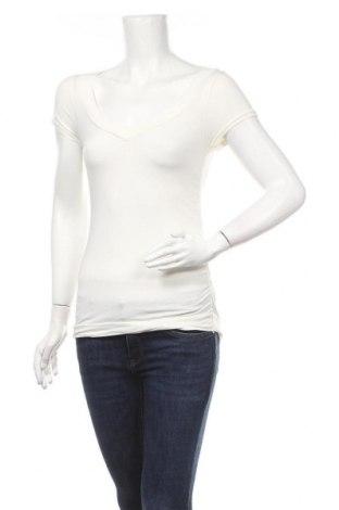 Γυναικεία μπλούζα Essentiel, Μέγεθος S, Χρώμα Λευκό, 94% βαμβάκι, 6% ελαστάνη, Τιμή 7,73€