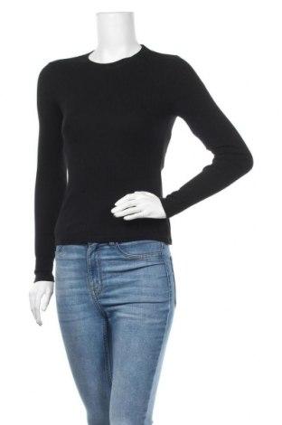 Дамска блуза Even&Odd, Размер S, Цвят Черен, Памук, Цена 13,44лв.