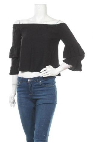 Дамска блуза Even&Odd, Размер S, Цвят Черен, Вискоза, Цена 18,90лв.