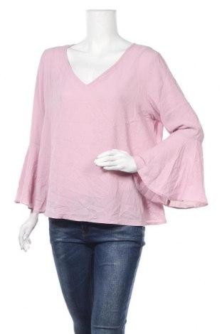 Дамска блуза Forcast, Размер XL, Цвят Розов, Полиестер, Цена 17,96лв.