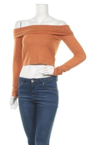 Γυναικεία μπλούζα Forever 21, Μέγεθος S, Χρώμα Καφέ, Τιμή 8,02€