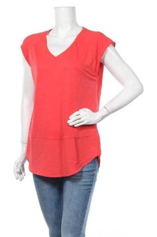 Γυναικεία μπλούζα Garcia, Μέγεθος L, Χρώμα Κόκκινο, 70% μοντάλ, 30% πολυεστέρας, Τιμή 8,83€