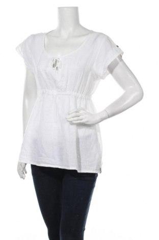 Γυναικεία μπλούζα Garcia, Μέγεθος L, Χρώμα Λευκό, Βαμβάκι, Τιμή 7,73€