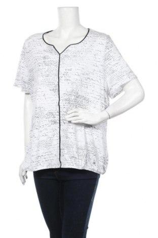 Γυναικεία μπλούζα Gina Laura, Μέγεθος XL, Χρώμα Λευκό, Τιμή 4,09€