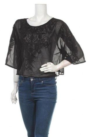 Дамска блуза Girl Xpress, Размер XXL, Цвят Черен, Полиестер, Цена 16,80лв.
