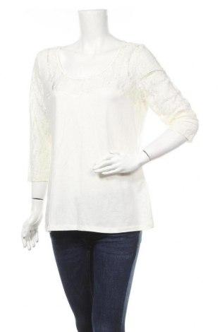 Дамска блуза Girl Xpress, Размер XXL, Цвят Бял, Памук, полиестер, еластан, Цена 18,90лв.