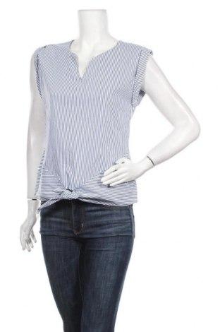 Γυναικεία μπλούζα Grain De Malice, Μέγεθος M, Χρώμα Μπλέ, 76% βαμβάκι, 22% πολυαμίδη, 2% ελαστάνη, Τιμή 11,11€