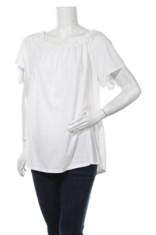 Γυναικεία μπλούζα Grain De Malice, Μέγεθος XL, Χρώμα Λευκό, 50% βισκόζη, 50% πολυεστέρας, Τιμή 11,72€