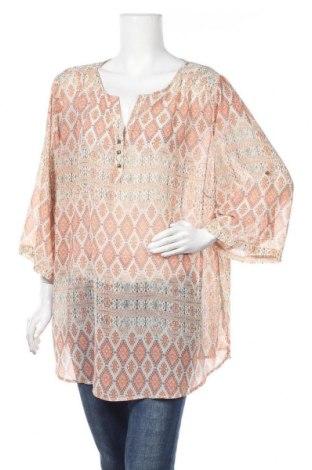 Дамска блуза Grandiosa, Размер XXL, Цвят Многоцветен, Цена 17,96лв.