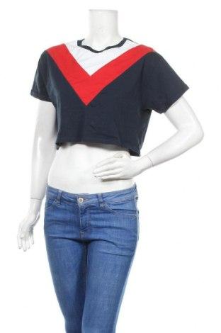 Дамска блуза H&M Divided, Размер S, Цвят Син, Цена 16,80лв.