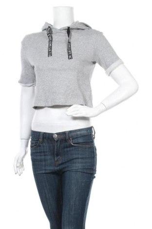 Дамска блуза H&M Divided, Размер XS, Цвят Сив, Памук, Цена 16,80лв.
