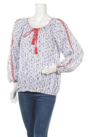 Дамска блуза H&M L.O.G.G., Размер M, Цвят Бял, Памук, Цена 4,73лв.