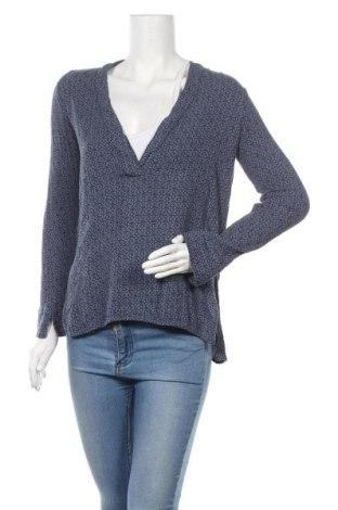 Дамска блуза H&M L.O.G.G., Размер S, Цвят Син, Вискоза, Цена 12,50лв.