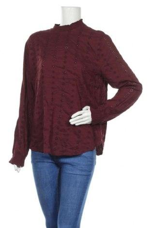 Дамска блуза H&M L.O.G.G., Размер XL, Цвят Червен, Вискоза, Цена 19,95лв.