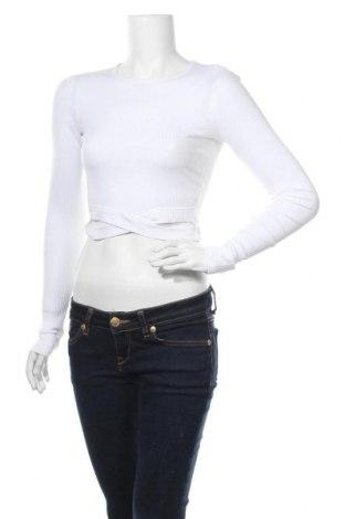 Γυναικεία μπλούζα Hollister, Μέγεθος S, Χρώμα Λευκό, 56% βαμβάκι, 38% πολυεστέρας, 6% ελαστάνη, Τιμή 9,05€