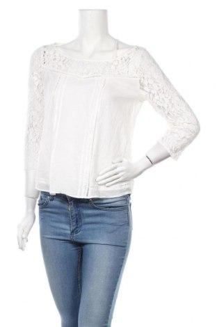 Дамска блуза Hollister, Размер M, Цвят Бял, Памук, полиамид, Цена 16,07лв.