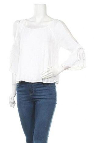 Дамска блуза Hollister, Размер M, Цвят Бял, Вискоза, Цена 17,85лв.