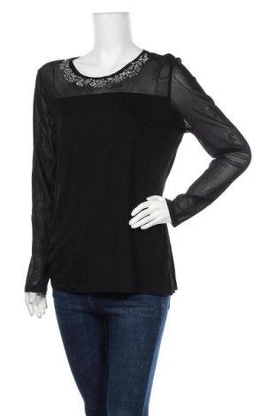 Дамска блуза INC International Concepts, Размер XL, Цвят Черен, 95% вискоза, 5% еластан, Цена 117,60лв.