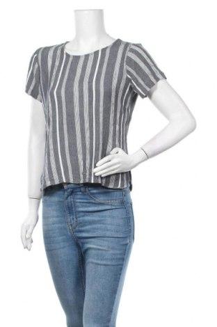 Γυναικεία μπλούζα Ichi, Μέγεθος M, Χρώμα Γκρί, Βισκόζη, Τιμή 10,52€