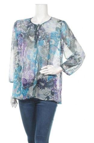 Γυναικεία μπλούζα Indiska, Μέγεθος L, Χρώμα Πολύχρωμο, Πολυεστέρας, Τιμή 4,32€