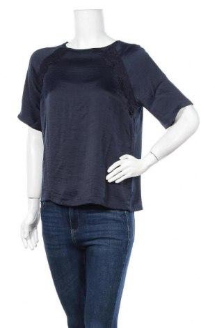 Дамска блуза Jacqueline De Yong, Размер S, Цвят Син, Полиестер, Цена 7,50лв.