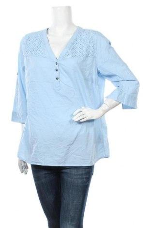 Γυναικεία μπλούζα John Baner, Μέγεθος XL, Χρώμα Μπλέ, Βαμβάκι, Τιμή 12,34€