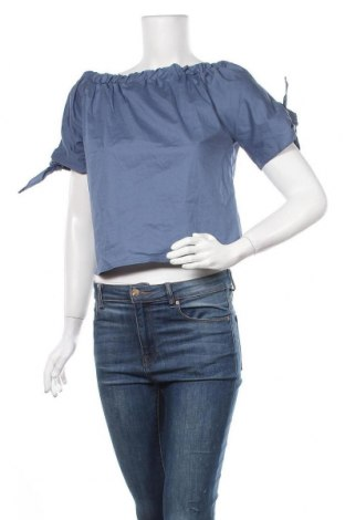 Γυναικεία μπλούζα La Belle Parisienne, Μέγεθος M, Χρώμα Μπλέ, Πολυεστέρας, Τιμή 11,11€