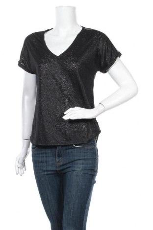 Γυναικεία μπλούζα Le Temps Des Cerises, Μέγεθος M, Χρώμα Μαύρο, 52% πολυεστέρας, 48% βισκόζη, Τιμή 3,64€