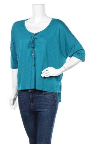 Дамска блуза Lee Cooper, Размер XL, Цвят Син, Полиестер, вискоза, Цена 3,94лв.