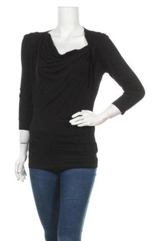 Γυναικεία μπλούζα Madonna, Μέγεθος L, Χρώμα Μαύρο, 92% βισκόζη, 8% ελαστάνη, Τιμή 3,21€