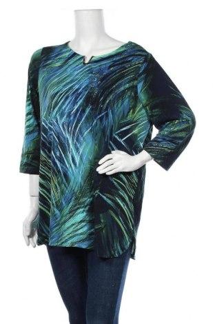 Γυναικεία μπλούζα Maggie T, Μέγεθος XL, Χρώμα Πολύχρωμο, 95% πολυεστέρας, 5% ελαστάνη, Τιμή 15,07€