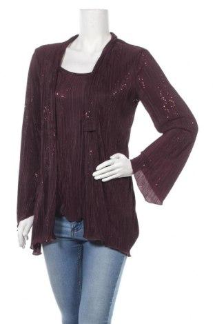 Γυναικεία μπλούζα Malva, Μέγεθος M, Χρώμα Βιολετί, Πολυεστέρας, Τιμή 4,09€
