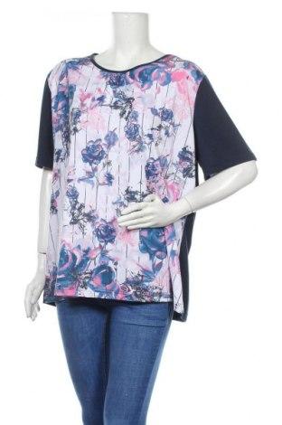 Γυναικεία μπλούζα Malva, Μέγεθος XXL, Χρώμα Μπλέ, 95% πολυεστέρας, 5% ελαστάνη, Τιμή 8,28€