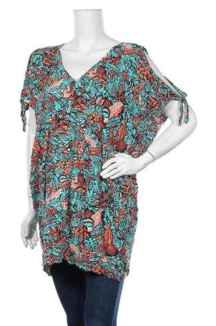 Γυναικεία μπλούζα Mambo, Μέγεθος L, Χρώμα Πολύχρωμο, Βισκόζη, Τιμή 9,35€