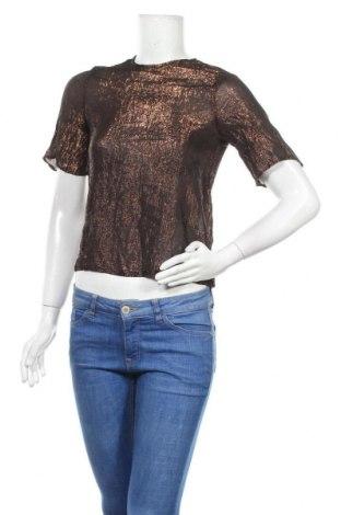Дамска блуза Mango, Размер S, Цвят Черен, Цена 4,46лв.