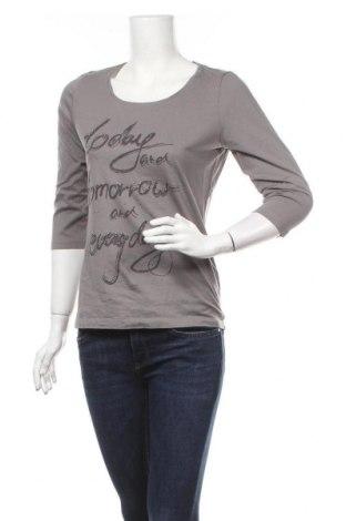 Дамска блуза Mark Adam, Размер M, Цвят Сив, Памук, Цена 15,96лв.