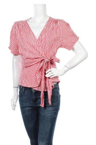 Γυναικεία μπλούζα Max Studio, Μέγεθος XL, Χρώμα Κόκκινο, 62% βαμβάκι, 37% πολυεστέρας, 1% ελαστάνη, Τιμή 26,89€