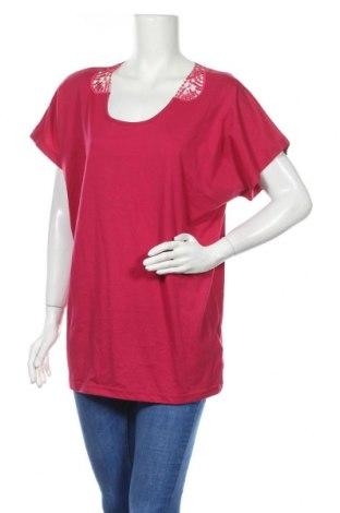 Дамска блуза Maxi Blue, Размер XL, Цвят Розов, 60% памук, 40% полиестер, Цена 7,78лв.