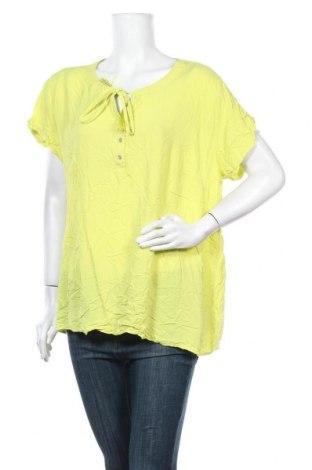 Дамска блуза Maxi Blue, Размер XXL, Цвят Зелен, Вискоза, Цена 15,17лв.