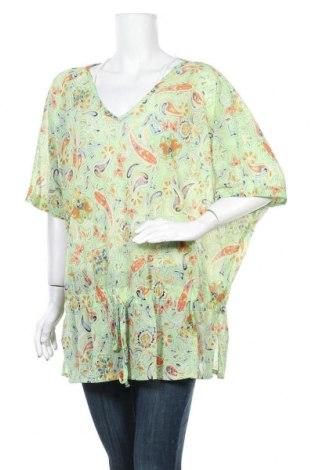 Дамска блуза Maxi Blue, Размер XXL, Цвят Зелен, 100% полиамид, Цена 16,96лв.