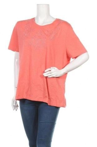 Γυναικεία μπλούζα Michele Boyard, Μέγεθος XXL, Χρώμα Ρόζ , Βαμβάκι, Τιμή 9,94€