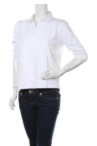 Γυναικεία μπλούζα Michele Boyard, Μέγεθος XL, Χρώμα Λευκό, Βαμβάκι, Τιμή 4,09€