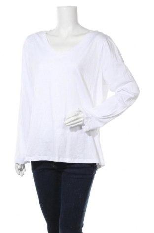 Γυναικεία μπλούζα Mix, Μέγεθος XXL, Χρώμα Λευκό, Βαμβάκι, Τιμή 10,39€