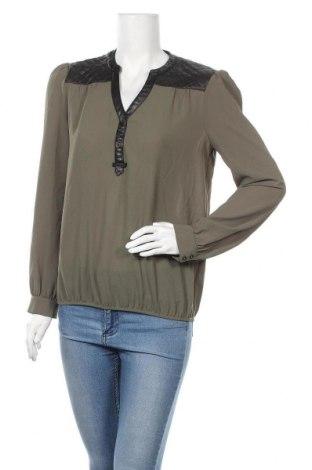 Дамска блуза Morgan De Toi, Размер M, Цвят Зелен, Текстил, еко кожа, Цена 18,95лв.
