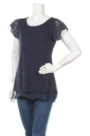 Γυναικεία μπλούζα Multiblu, Μέγεθος M, Χρώμα Μπλέ, 70% βισκόζη, 30% πολυεστέρας, Τιμή 9,87€