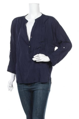 Дамска блуза My Hailys, Размер L, Цвят Син, Вискоза, Цена 17,85лв.