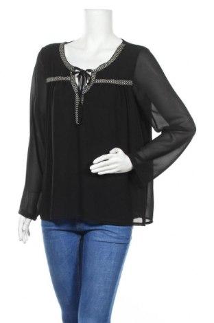 Дамска блуза Nadia Nardi, Размер S, Цвят Черен, Полиестер, Цена 5,36лв.